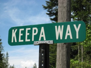 Keepa Way Sign