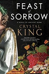 Cover of Crystal King's novel Feast of Sorrow.
