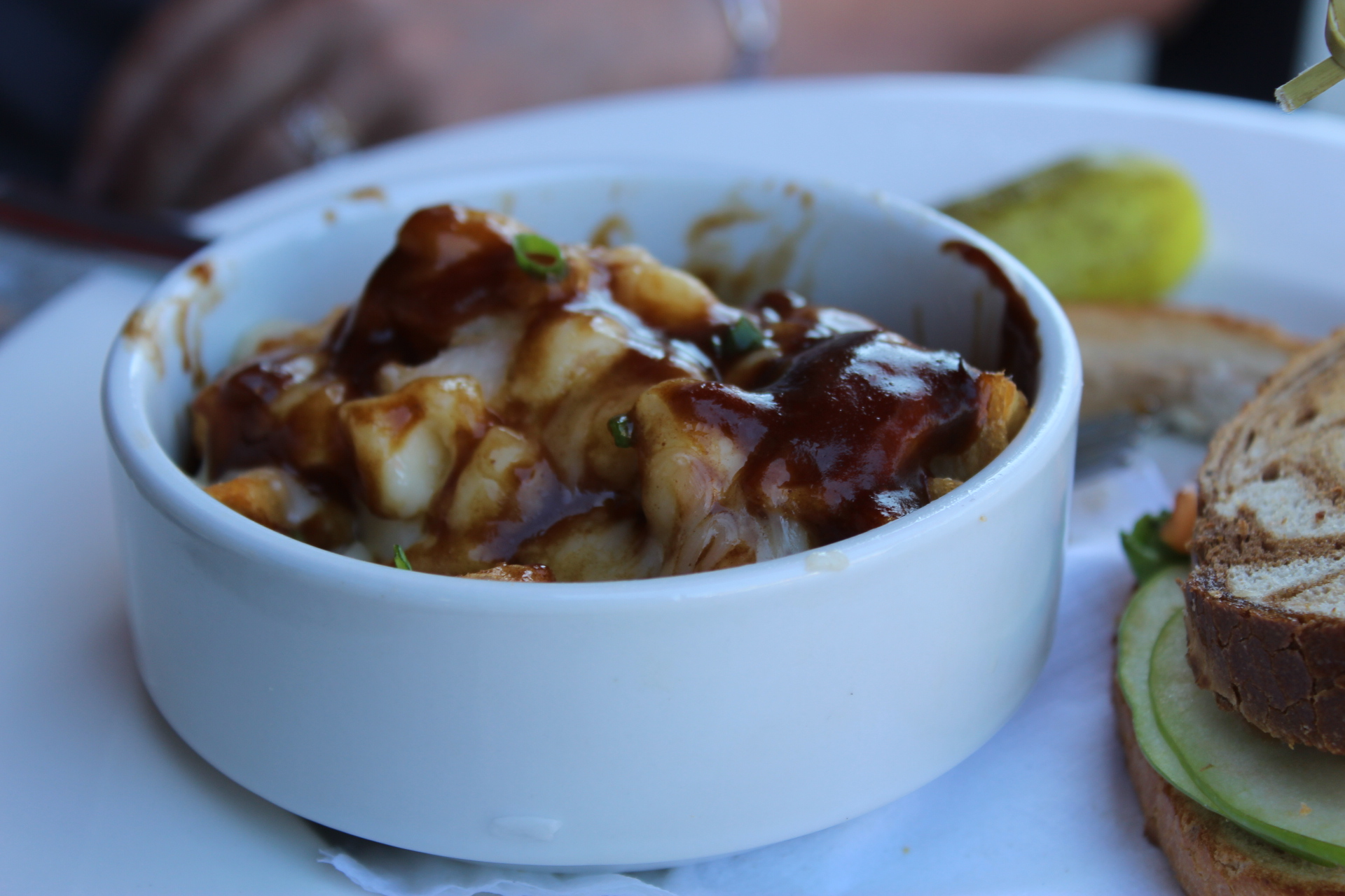 Poutine: Fries, cheese curds, gravy, and clogged arteries